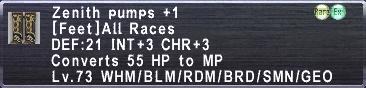 Zenith Pumps +1
