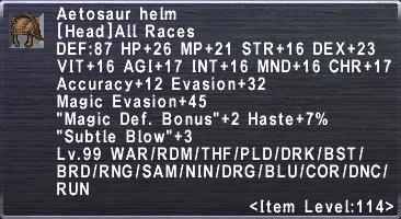 Aetosaur Helm