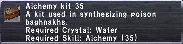 Alchemy Kit 35