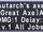 Autarch's Axe