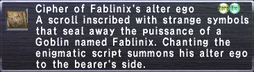 Cipher: Fablinix