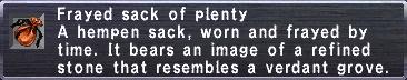 Frayed Sack (Fer)