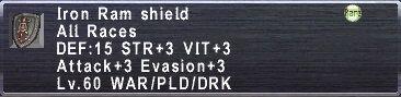 Iron Ram Shield