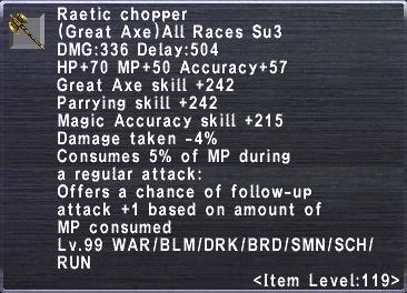 Raetic Chopper