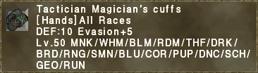 Tactician Magician's Cuffs