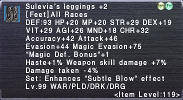 Sulevia's Leggings +2