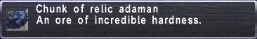 Relic Adaman