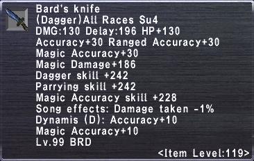 Bard's Knife