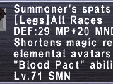 Summoner's Spats
