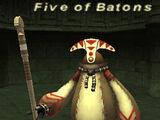 Five of Batons