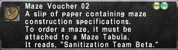 Maze Voucher 02