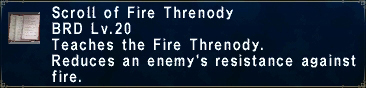 Fire Threnody
