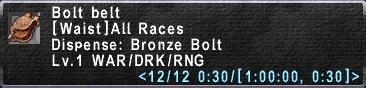 AfD Discussions/Image:Bolt-Belt.jpg