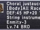 Choral Justaucorps +1