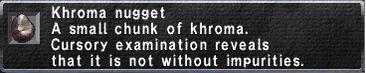 Khroma Nugget