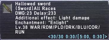 Hallowed Sword