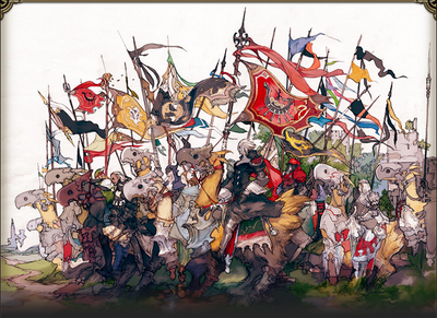 The Grand Companies of Eorzea.