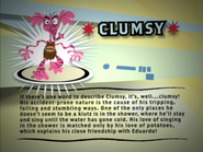Clumsy info
