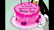 Madam foster birthday cake
