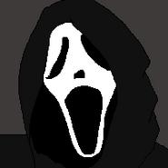 Ghost Face Mugshot