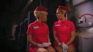Air Afrikaans During Turbulence