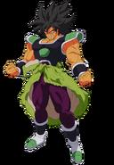 Wrathful Broly Dragon Ball Super