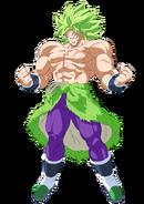 Legendary Super Saiyan Broly Dragon Ball Super
