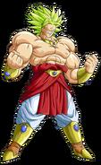 Broly Legendary Super Saiyan Form Dragon Ball