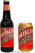 Beer Heisler can and bottle