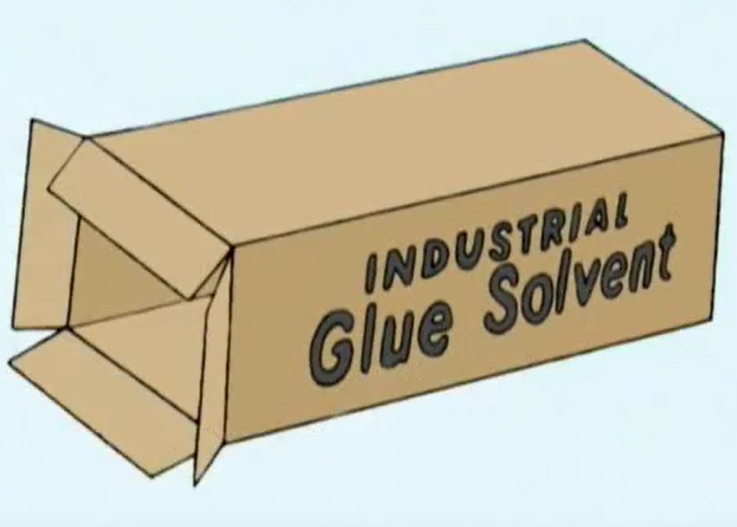 Industrial Glue Solvent