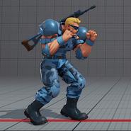 SFV guile super soldier costume