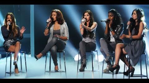 "Fifth Harmony ""Set Fire to the Rain"" - Live Week 6 - The X Factor USA 2012"