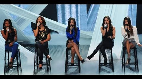 """Fifth Harmony """"A Thousand Years"""" - Live Week 2 - The X Factor USA 2012"""