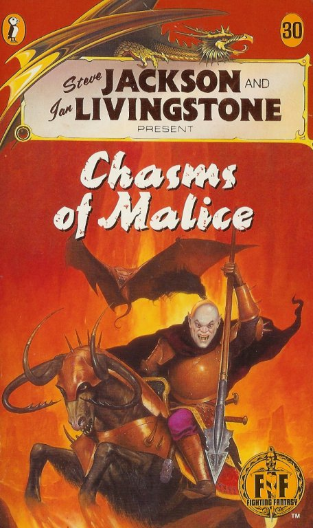 Chasms of Malice (book)