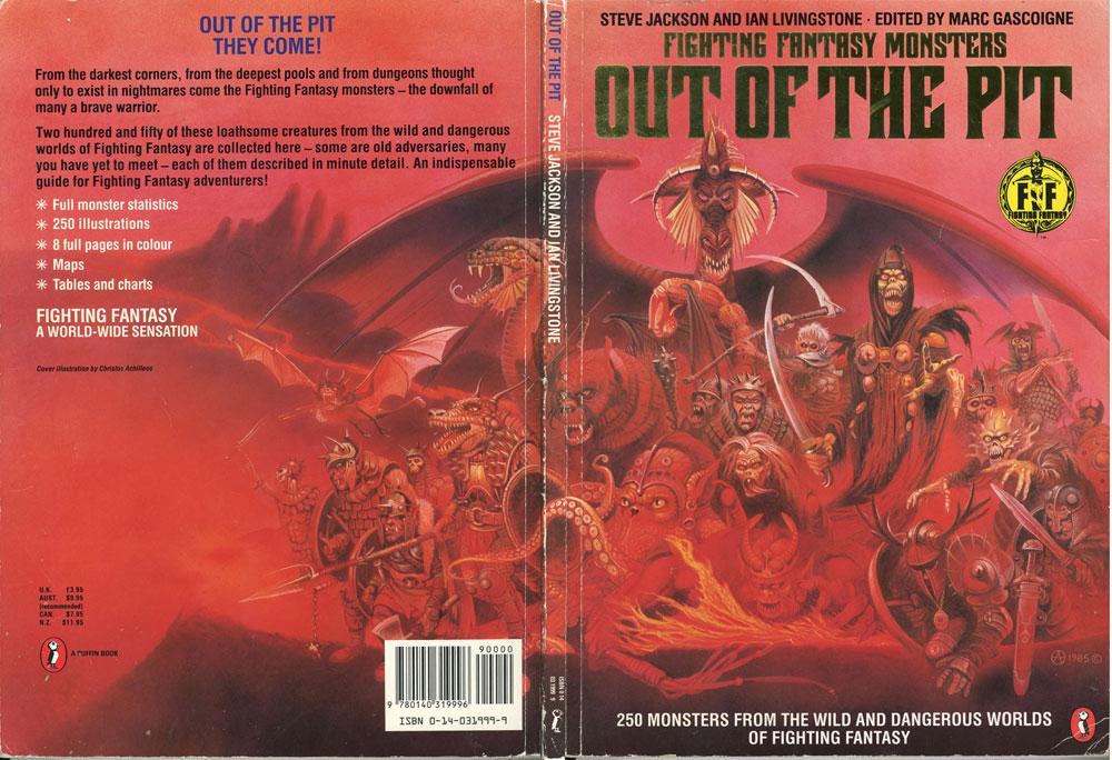 Fighting Fantasy Manual