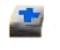 Blue first aid kit
