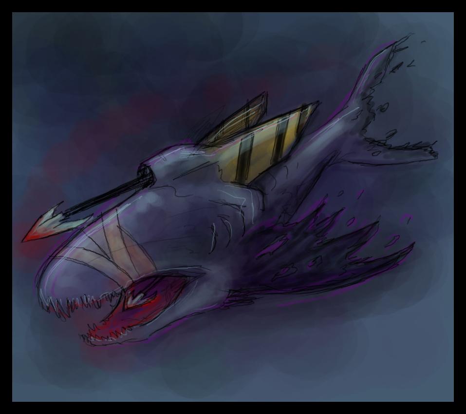 BEAST VampiricHarpoonShark by pseudolonewolf.jpg