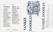 J-card for Yankee Doodles tape