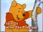 Join Us After the Program (Sing a Song with Pooh Bear variant)