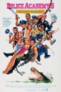 Police Academy 5 - Assignment Miami Beach 1988 Poster