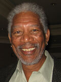 Photo of Morgan Freeman at the Forbes MEET Conference in LA in 2006.