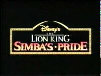 Video trailer The Lion King Simba's Pride.jpg
