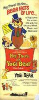 Hey There It's Yogi Bear poster 1964