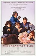 Breakfast Club 1985 Poster