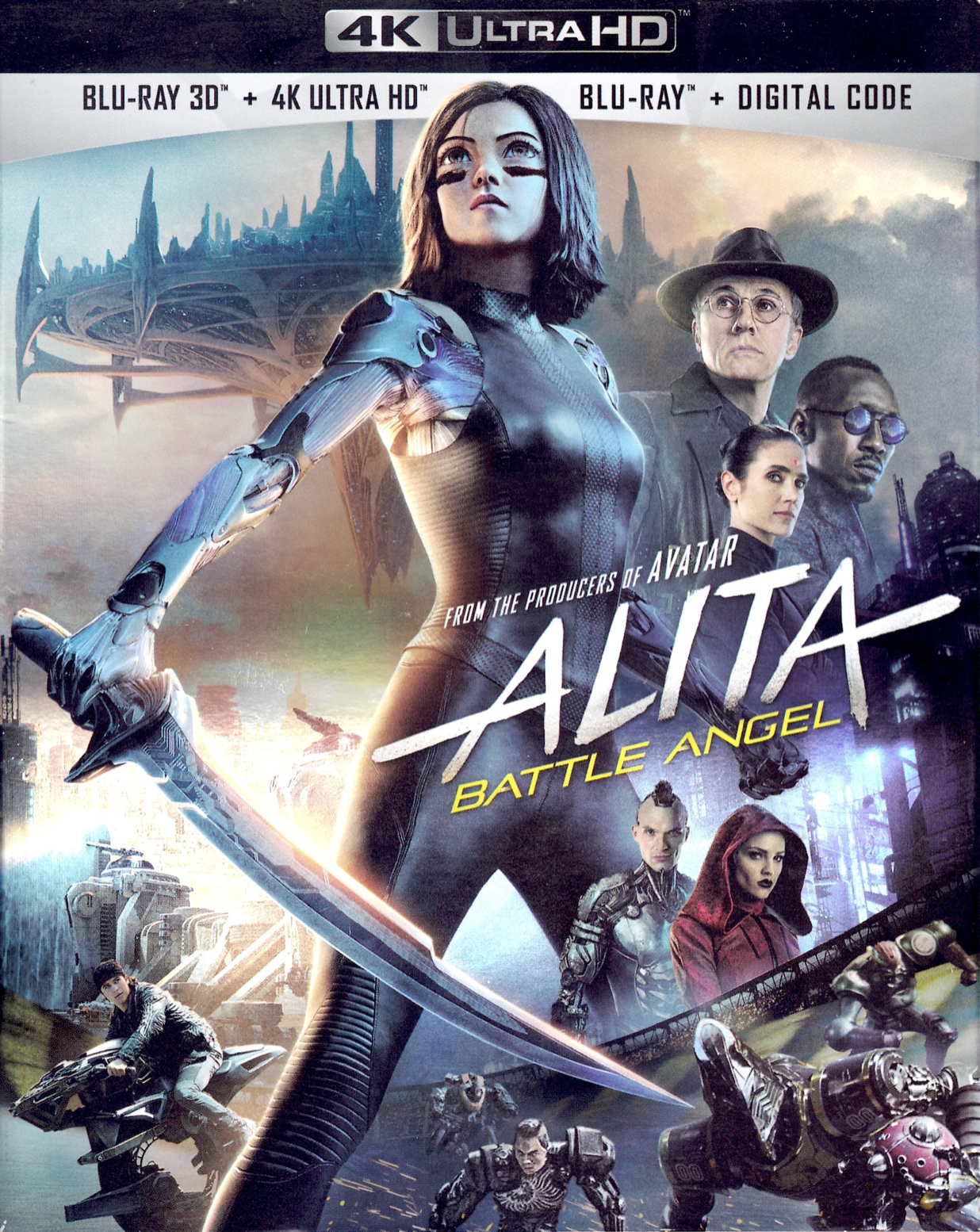Alita: Battle Angel/Home media