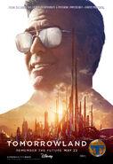 Tomorrowland Poster Frank 003