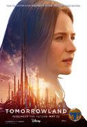 Tomorrowland Poster Casey 003