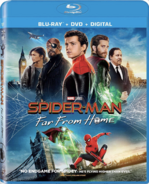 Spider Man Far From Home Blu-ray