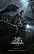 Jurassic World final poster