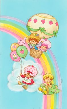 Strawberry Shortcake: Up Up and Away (1986)